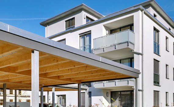 Planung und bau von vordächern und carports in bergisch gladbach