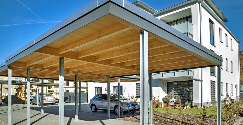 Planung und Bau von Vordächern und Carports in Bergisch Gladbach ...