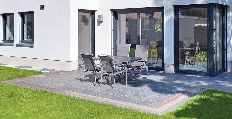 Balkone Und Terrassen In Bergisch Gladbach Verlegung Von - Splittbett für terrasse
